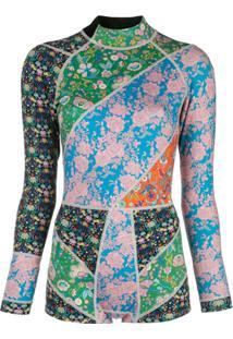 Cynthia Rowley Daybreak Floral Wetsuit - Estampado