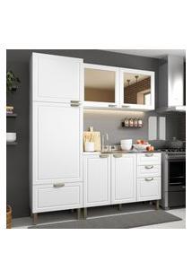 Cozinha Completa 3 Peças Americana Multimóveis 5903 Branco