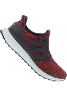 ... Tênis Adidas Ultraboost - Masculino - Vinho Preto 16bb3bc25402e