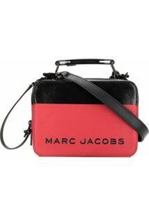 Marc Jacobs Bolsa Tote Color Block Dipped - Vermelho