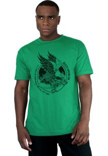 Camiseta Bleed American Eagle Bandeira