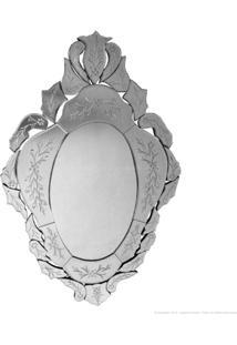 Espelho Decorativo Dolores Prata - Antonio E Filhos