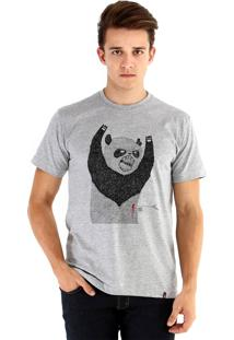Camiseta Ouroboros Pandassauro Cinza