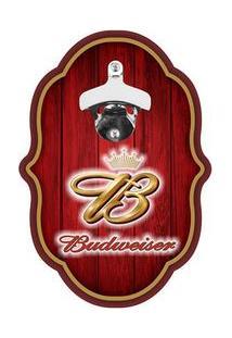 Abridor De Garrafa Colonial Cerveja Budweiser