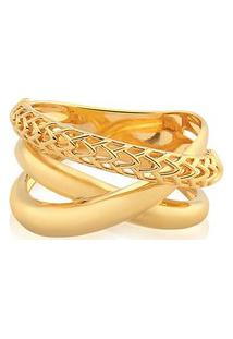 Anel Ouro Amarelo