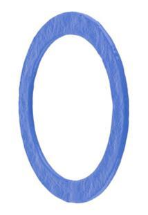 Jil Sander Bracelete Com Acabamento Encerado - Azul