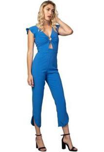 Macacão Feminino Sailor - Feminino-Azul