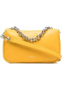 Furla Small Moon Shoulder Bag - Amarelo