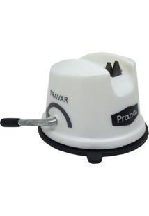 Afiador De Facas Prana - Unissex-Branco+Preto