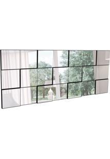 Espelho Decorativo Gabriel (175X75) Preto