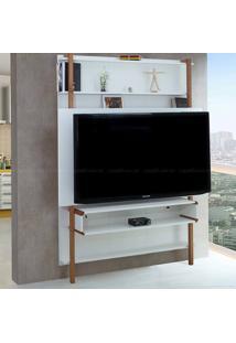 Estante Home Theater Para Tv Até 60 Polegadas Karl 180 X 134,8 X 25,5 Branco - Urbe Móveis