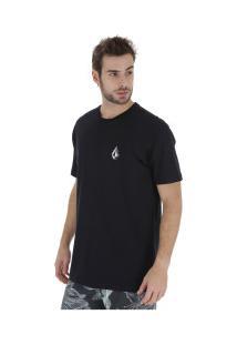Camiseta Volcom Deadly Stone - Masculina - Preto