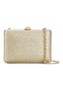 Rodo Sequin Clutch Bag - Dourado