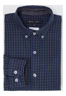 Camisa Manga Longa Social Comfort Oxford