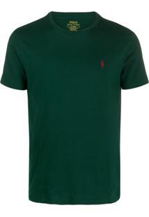 Polo Ralph Lauren Camiseta Com Logo Bordado - Verde