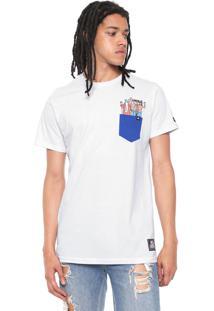 Camiseta Starter Pocket Wally Group Branca