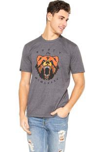Camiseta Rusty Bears Cinza