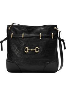 Gucci Large 1955 Horsebit Bucket Bag - Preto