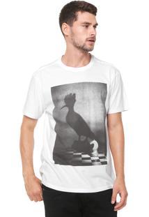Camiseta Reserva Pica Xadrez Branca
