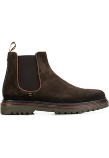 Brimarts Ankle Boot Slip-On - Marrom