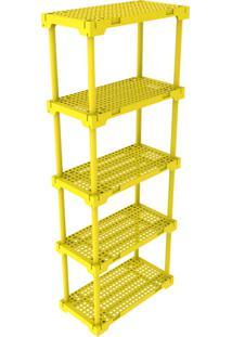 Estante Poly 5 Amarela