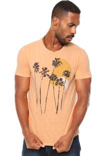 Camiseta Ellus Palmeiras Coral