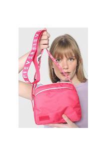 Bolsa Fiever Logo Rosa/Branca