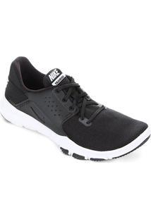 Tênis Nike Flex Control Tr3 Masculino - Masculino-Preto+Branco