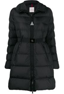 Moncler Belted Puffer Jacket - Preto
