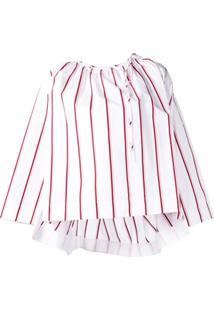 Calvin Klein 205W39Nyc Blusa Listrada - Branco