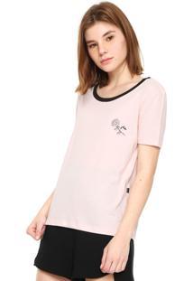 Camiseta Rusty Mac Rosa