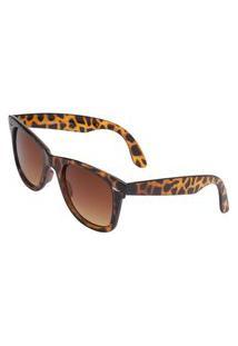 Óculos Ray Flector W2401 Caramelo