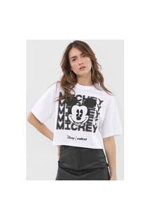 Camiseta Colcci Disney Mickey Branca