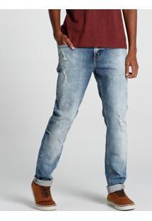 Calça Jeans Puído