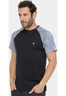 Camiseta Element Sketch Slleve Masculina - Masculino