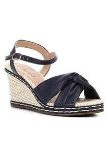 Sandália Anabela Shoestock Tiras Feminina