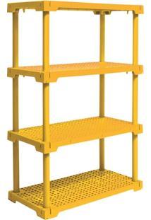 Estante Cube 4 Amarelo