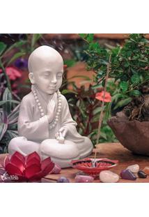 Estátua Monge Budista Tambor