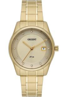 Relógio Orient Feminino - Fgss1114.C1Kx Dourado
