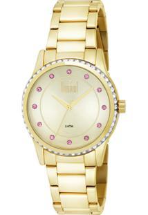 Relógio Digital Dourado Dumont feminino   Shoelover 17f37679ac