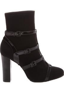 Sock Sandal Boot Black | Schutz