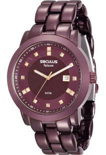 Relógio Seculus Feminino Aplause 20422Lpsvfa5