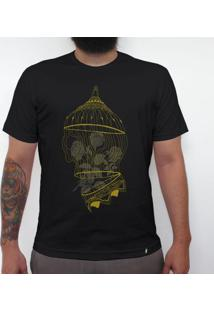 Golden Cage - Camiseta Clássica Masculina