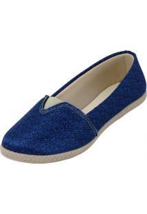 Alpargata Polly Aguiar 25643 Azul