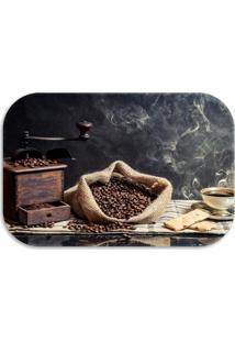 Tapete Decorativo Lar Doce Lar Coffee 40Cm X 60Cm Marrom - Marrom - Dafiti