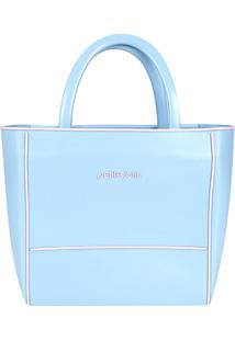 Bolsa Petite Jolie Tote Daily Bag Express Bicolor Feminina - Feminino-Azul