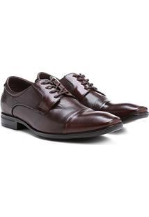 Sapato Social Couro Democrata Air Conforto - Masculino
