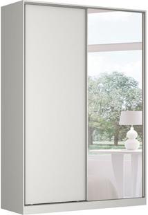 Guarda-Roupa Solteiro Com Espelho Tunas I 2 Pt 3 Gv Branco