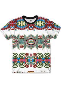 Camiseta Bsc Tribal Reflexo Full Print Masculina - Masculino
