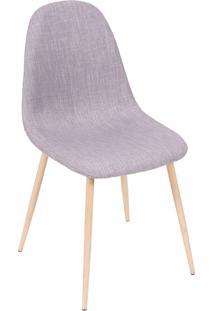 Cadeira 1112-Or Design - Cinza / Madeira